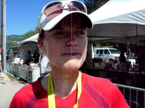 Keri Nelson talks about her 2010 Pikes Peak Marathon win