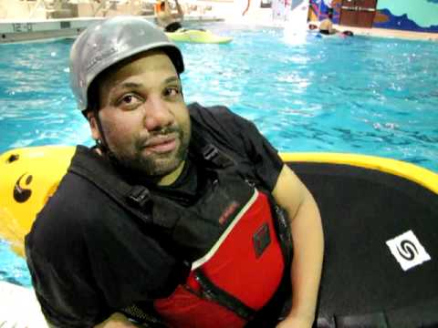Jose Nunez is a big fan of the Pikes Peak Whitewater Club