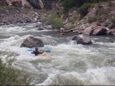 Kayaking Pinnacle to Old Parkdale on the Arkansas River