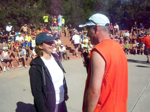 'Please marry me' ... runner proposes at Garden of the Gods 10-Mile awards ceremony