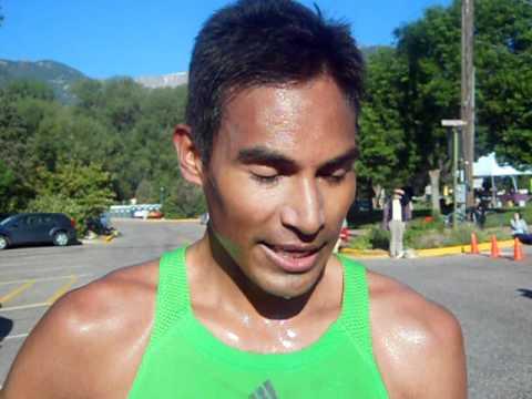 Mario Macias talks about winning 2011 Garden of the Gods 10-Mile Run
