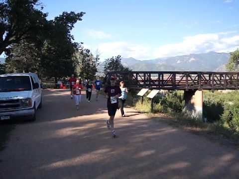 Start of the Pikes Peak Road Runners' Great Race