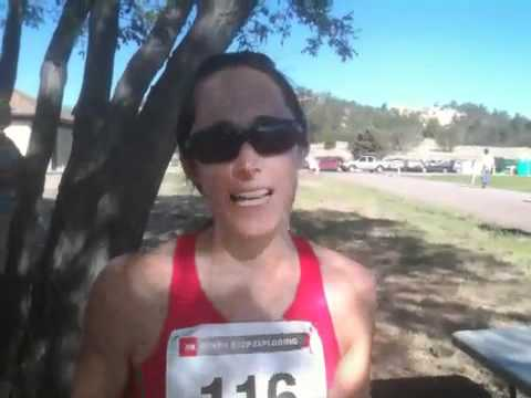 Amanda Occhi at 2011 Hellacious Trail Challenge