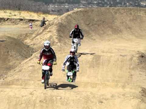 Saturday racing at the Pikes Peak BMX track