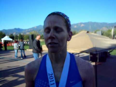 Colorado Springs runner Connilee Walter sets ADT Half Marathon record