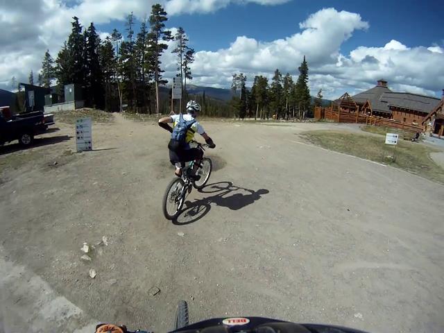 Trestle Bike Park at Winter Park ski area ... Top to Bottom fun!