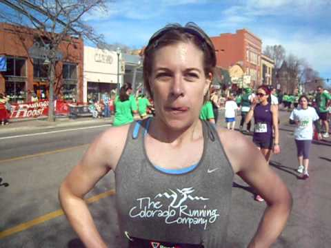 Interview with 5K on St. Patrick's Day women's race winner Amanda Ewing