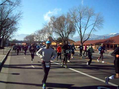 Start of the inaugural Super Half Marathon