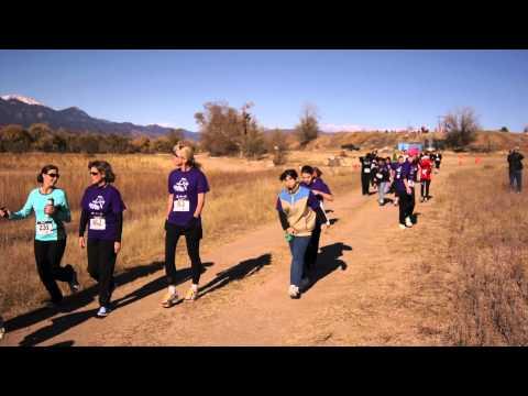 Start of the Girls on the Run 5K, Nov. 12, 2011, at Venetucci Farm