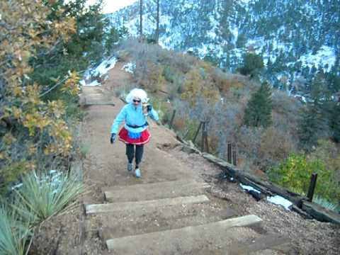 The fabulous Marilyn Monroes seduce the Manitou Incline