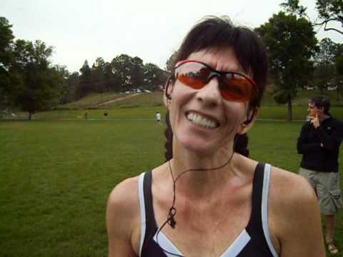 Louise Kriel talks about winning the inaugural Jack Quinn's Running Club 5K