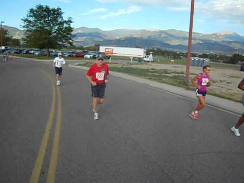 Start of the Rocky Mountain State Games 5K