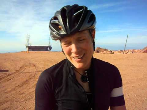 Katie Compton wins Pikes Peak Cycling Hill Climb
