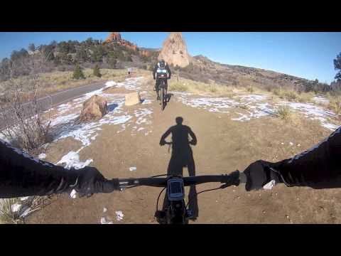 Colorado Springs pro riders Kalan Beisel and Danny Pate's Januray shred fest