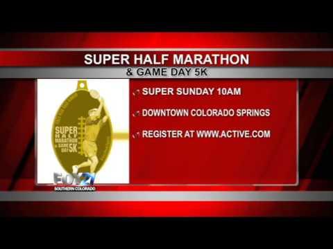 Super Half Marathon and Game Day 5K FOX21 interview
