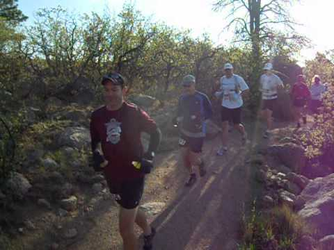 Start of the Cheyenne Mountain Trail Race 50K