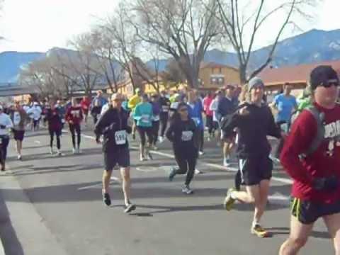 Start of the second annual Super Half Marathon