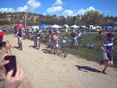 Start of 24 Hours of Colorado Springs (USA Cycling National Championship)