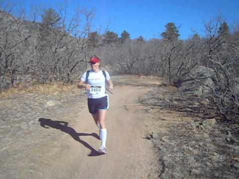 Start of the Cheyenne Mountain Trail Race 25K