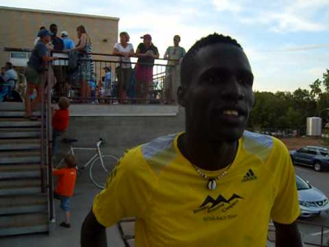 Dey Dey talks about his blazing 3:53 in the inaugural Bristol Mile