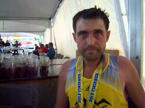 Jason Delaney leads at summit, then holds on to place third in Pikes Peak Marathon