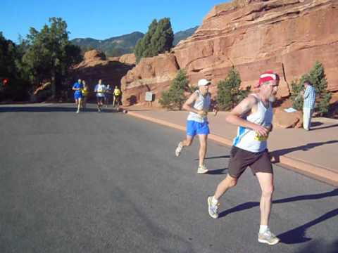 Start of the Garden of the Gods 10 Mile Run