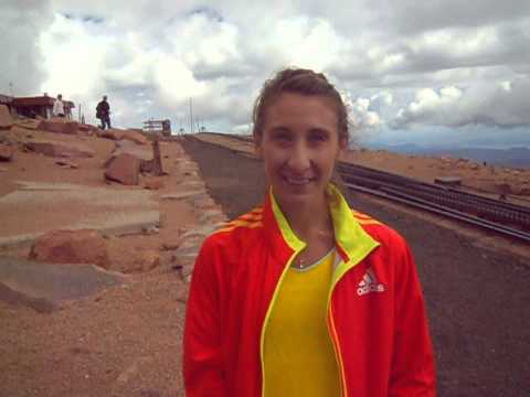 Nicole Mericle tells us how she won the first Pikes Peak High-Altitude Mile