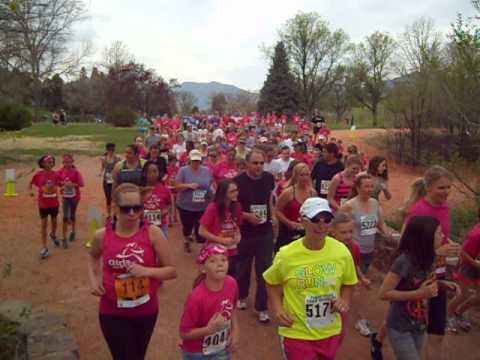 Start of the Women's Distance Festival 5K