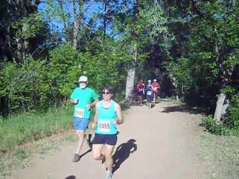 Start of the Panoramic 4-Mile Run