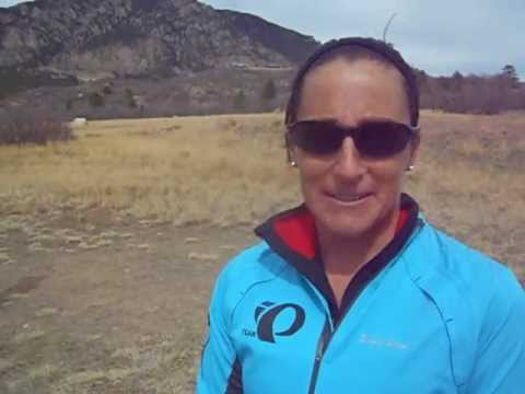 Shelley Nelson talks about her win in the Cheyenne Mountain XTERRA 24K Trail Race