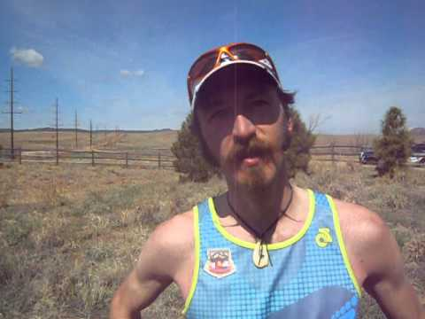 Peter Maksimow breaks his course record at Greenland Trail 50K