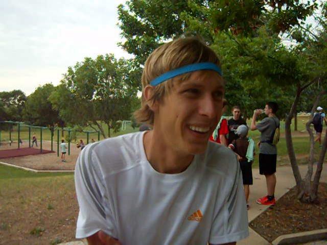 Recent CU grad and cross country runner Andy Wacker wins Summer Roundup Trail Run
