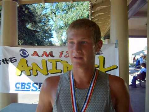 Dan Egger, 18, wins the inaugural Half on the 4th Half Marathon