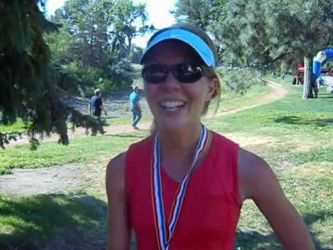 Kelly McRae talks about her win in the inaugural Half on the 4th Half Marathon