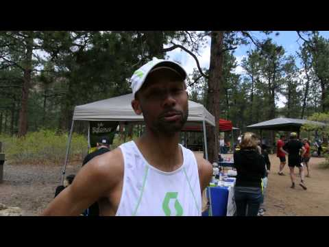 Joe Gray wins Big Mountain Trail Run Half Marathon
