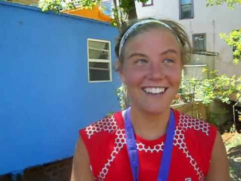 Emelie Forsberg talks about her win in the Pikes Peak Marathon
