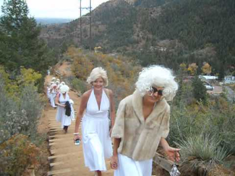 The Marilyns take the Incline