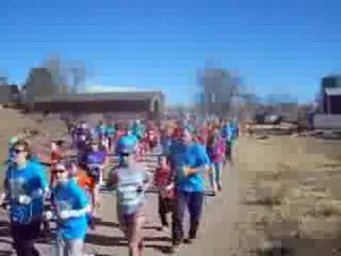 Start of the Girls on the Run 5K