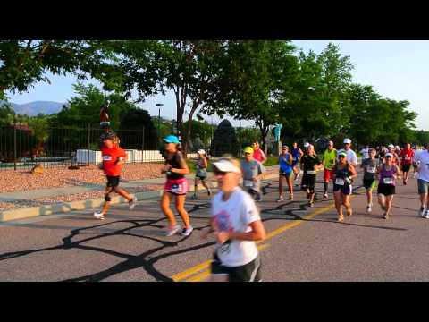 Start of the Classic 10K in Colorado Springs