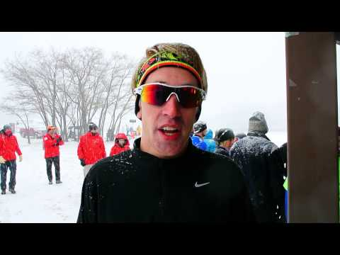 Zack Kuzma talks about winning the Rescue Run 5K