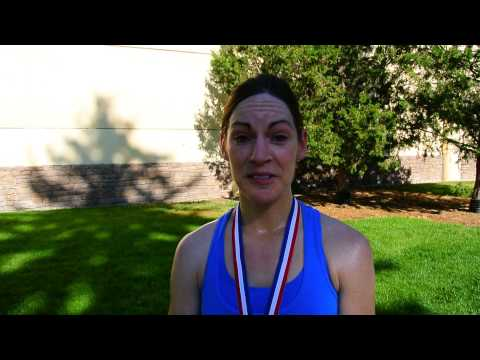 Kayla Regulski wins Half on the Fourth