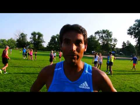 Mario Macias talks about winning the Classic 10K