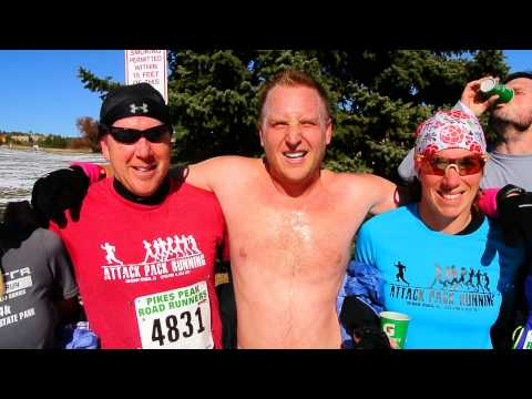 Interview with nearly naked Josh Herman and the Attack Pack runners