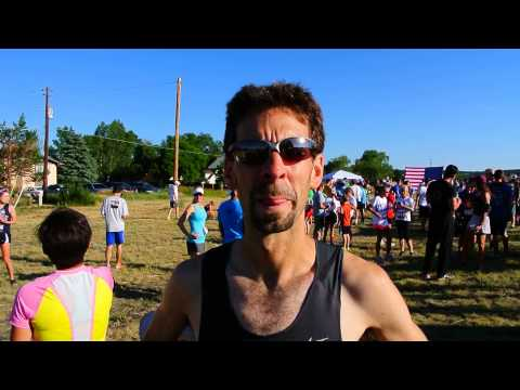 Adam Rich wins July 4th Fun Run at Palmer Lake