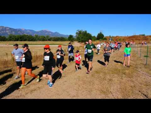 Start of the Great Pumpkin Run 5K
