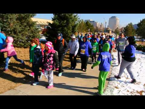 Start of the Fall 2014 Girls on the Run 5K