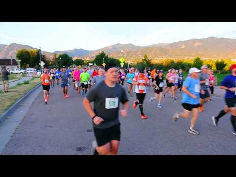 Start of the 2015 American Discovery Trail Half Marathon