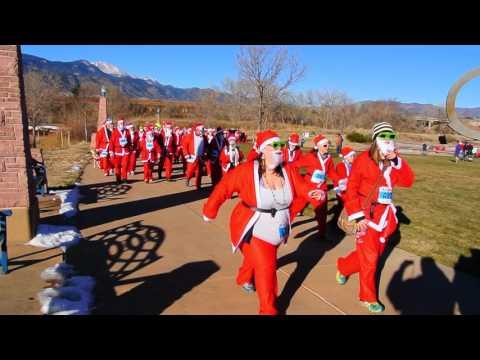 Start of Chasing Santa 5K