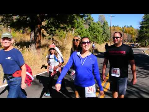 Start of the Canya Cañon 4-mile race