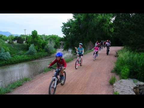 Riding to work with Colorado Springs mayor John Suthers